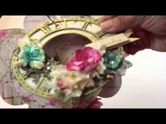 """**VIDEO**  With A Grin: Scrapbooking """"Love Is Timeless"""" Mini Album (featuring BFS)"""