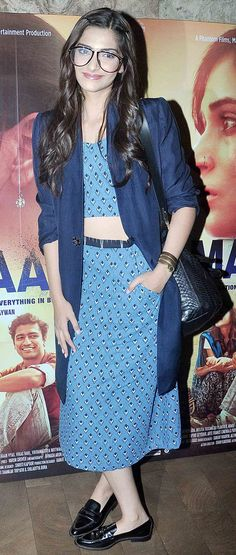 Sonam Kapoor at screening of 'Masaan'.