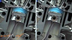 Toyota new 1.2 Turbo engine Atkinson cycle