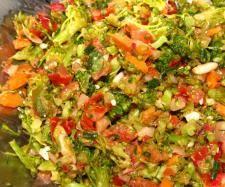 Rezept Brokkoli -Trauben - Salat von ooSchmetterlingoo - Rezept der Kategorie Vorspeisen/Salate