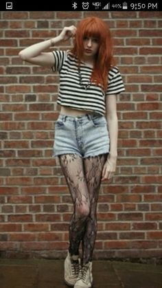 Stripes and tights