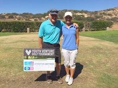 Attention Getters at San Vicente Golf Club……. Golfing to raise money for East County's Youth Venture Program! We provided all the signage for this event as a sponsor, and played in the tournament t...