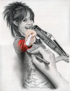 Lindsey Stirling drawing