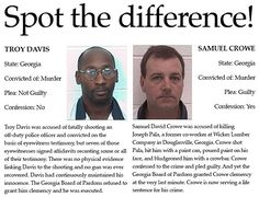 Spot the difference: Troy Davis immmm