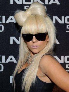 Lady Gaga   Hair Bow   #StyledToRock