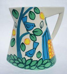 David Pantling Ceramics - Birds and trees