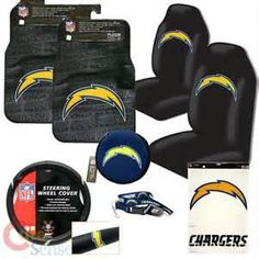 Deck out your car with San Diego Chargers STUFF ツ