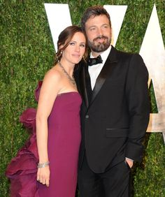 Pin for Later: The Way They Were: 10 Years of Ben Affleck and Jennifer Garner's Relationship Moments  Ben and Jennifer headed to the Vanity Fair Oscar party together in February 2013.