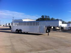 Thank you to Avery Chapman from Wellington, Fl on purchasing this 10 horse Polo trailer from Jake Ramsey at Gulf Coast 4-Star Trailer Sales!  (877) 543-0733