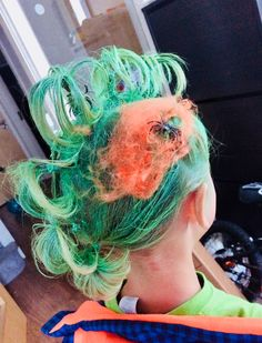 So yeah it's the time of the year again that we're getting to research some fun ideas for crazy day hair day in school for our children. Crazy Hair Days, Crazy Day, Dreadlocks, Hair Styles, Beauty, Hair Plait Styles, Hairdos, Weird Hairstyles, Haircut Styles