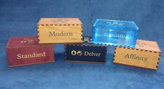 Customizable Gaming Card Deck Box by CustomID4U on Etsy