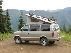 Chevy 4x4 Astro van conversion (running gear from a 4x4 S10 possible fit?)
