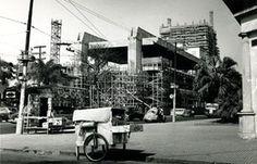 Masp em construção Foto Luis Hossaka
