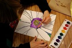 Awesome resource of art ideas for children!