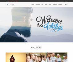 Ichthys - ModelTheme Wordpress Premium, Ichthys, Amazing Websites, Progress Bar, Mega Menu, Event Calendar, Make More Money, Page Layout