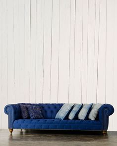 English Chesterfield Sofa by Ralph Lauren Home at Neiman Marcus.