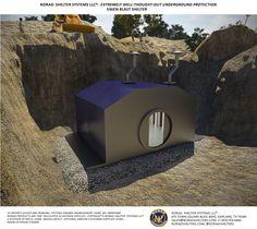 S16x16 Bomb Shelter Exterior 1