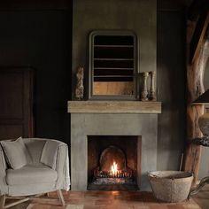 For sale at www. … - Home Accessories Best of 2019 Coastal Decor, Rustic Decor, Casa Wabi, Hamptons Decor, Rustic Kitchen Design, Interior Decorating, Interior Design, Fireplace Mantle, Rustic Interiors