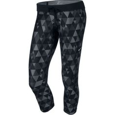 Wiggle | Nike Women's Printed Relay Cropped Pants - SU14 | Running Tights
