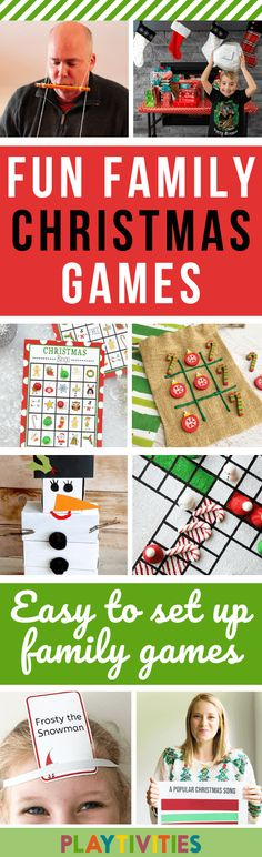 18 Christmas Games for Families To Play This Year. These fun Christmas games for families require a bit preparation, but I have some extra tips for entertaining your kids while preparing for the real play time!