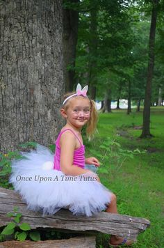 Check out this item in my Etsy shop https://www.etsy.com/listing/545878845/white-bunny-rabbit-tutu-skirt-birthday