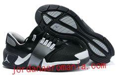 Acheter Chaussures Jordan Alpha Trunner Noir/Blanc Gris-Metallic Argent |JordanAeroMania.com