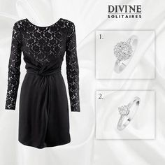 Tell us which of the ravishing beauties will suit this elegant and classic chic dress.