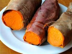 Sweet Potatoes are an incredibly nutritious food that are packed with antioxidants like beta carotene, vitamins C, E & D, and minerals such as manganese and iron. Sweet potatoes are also high in potassium which helps to lower blood pressure by removing excess sodium and regulating fluid balance in the body. Sweet potatoes are an excellent anti-stress food and are known to help relax muscles, steady nerves, and balance cognitive function.