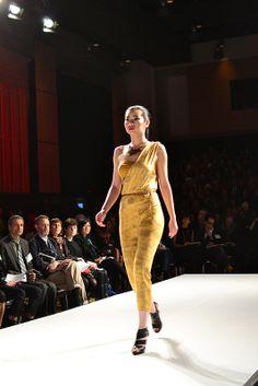 Samantha Salama, Graduate Runway Fashion Collection at Redefining Design 2014. The School of Fashion at Seneca College. #RedefiningDesign