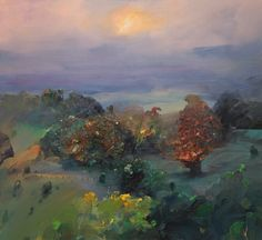 Ji Chen 'Kangaroo Valley' Paintbox Fine Art, Canberra