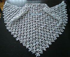 Ravelry: Chain Shawl pattern by Sevkut - free! (looks like delta crochet)