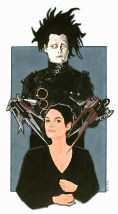 Edward Scissorhands by Phil Noto