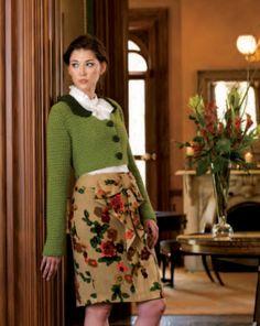 Anne's Spencer jacket, diy knittingcrochetingsew, lion, jane austen, crochet craft, crochet button, crochet patterns, ann spencer, crochet ann