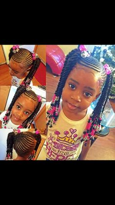 Remarkable 1000 Images About Love The Kids Braids Twist And Natural Styles Hairstyle Inspiration Daily Dogsangcom