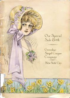 Vintage 1905 Department Store Fashion Catalog