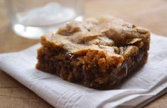 Chocolate Chunk Browned Butter Blondies