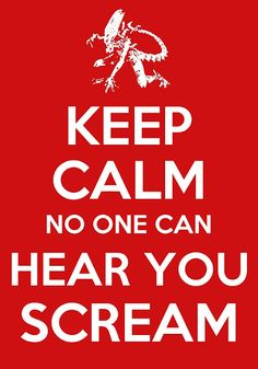 #KeepCalm Alien