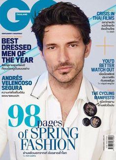Andrés Velencoso Segura en portada de GQ Tailandia