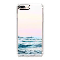 Dreamy Ocean iPhone and iPod Case - iPhone 7 Plus Case And Cover (223835 PYG) ❤ liked on Polyvore featuring accessories, tech accessories, iphone case, clear iphone case, apple iphone case, iphone cases and iphone cover case