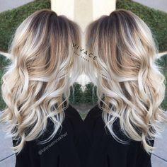 Image result for beige blonde balayage
