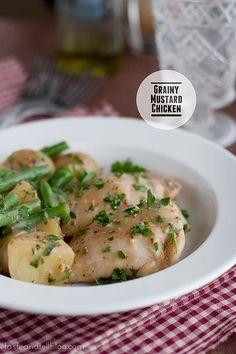 Chicken Recipe: Grainy Mustard Chicken Recipe