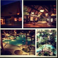 Tahiti Village, Las Vegas First trip to Vegas with Myron & Yvette