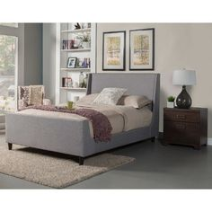 Brayden Studio Amber Platform Bed & Reviews | Wayfair