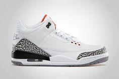 best website 6498f c83bd Air Jordan 3 Retro  88 White Cement Grey. Air Jordan 3Jordan ShoesRabatt  JordansBeste TurnschuheTurnschuhe Nike