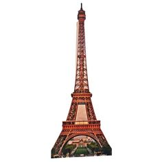 Eiffel Tower Theme Prop -- 7 ft, $50
