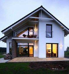 best modern farmhouse exterior design ideas - page 7 Style At Home, Building Facade, Building Design, Stommel Haus, Casa Patio, Tudor Style Homes, Modern Architects, Modern Farmhouse Exterior, Craftsman House Plans
