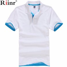 >> Click to Buy << Riinr New 2017 Men's Brand Polo Shirt For Men Designer Polos Men Cotton Short Sleeve shirt Brands Jerseys Golftennis Casual Polo #Affiliate