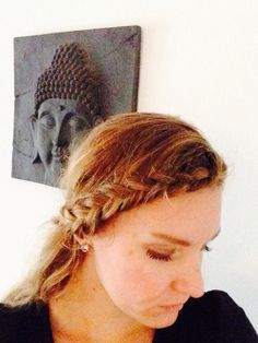Lace headbandbraid