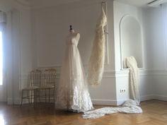 Wedding dress. Atelier. Couture. Malne.
