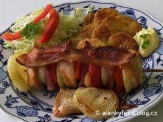 Ražniči z kuřecího masa........... http://alenkyfood.blog.cz/0801/raznici-z-kureciho-masa